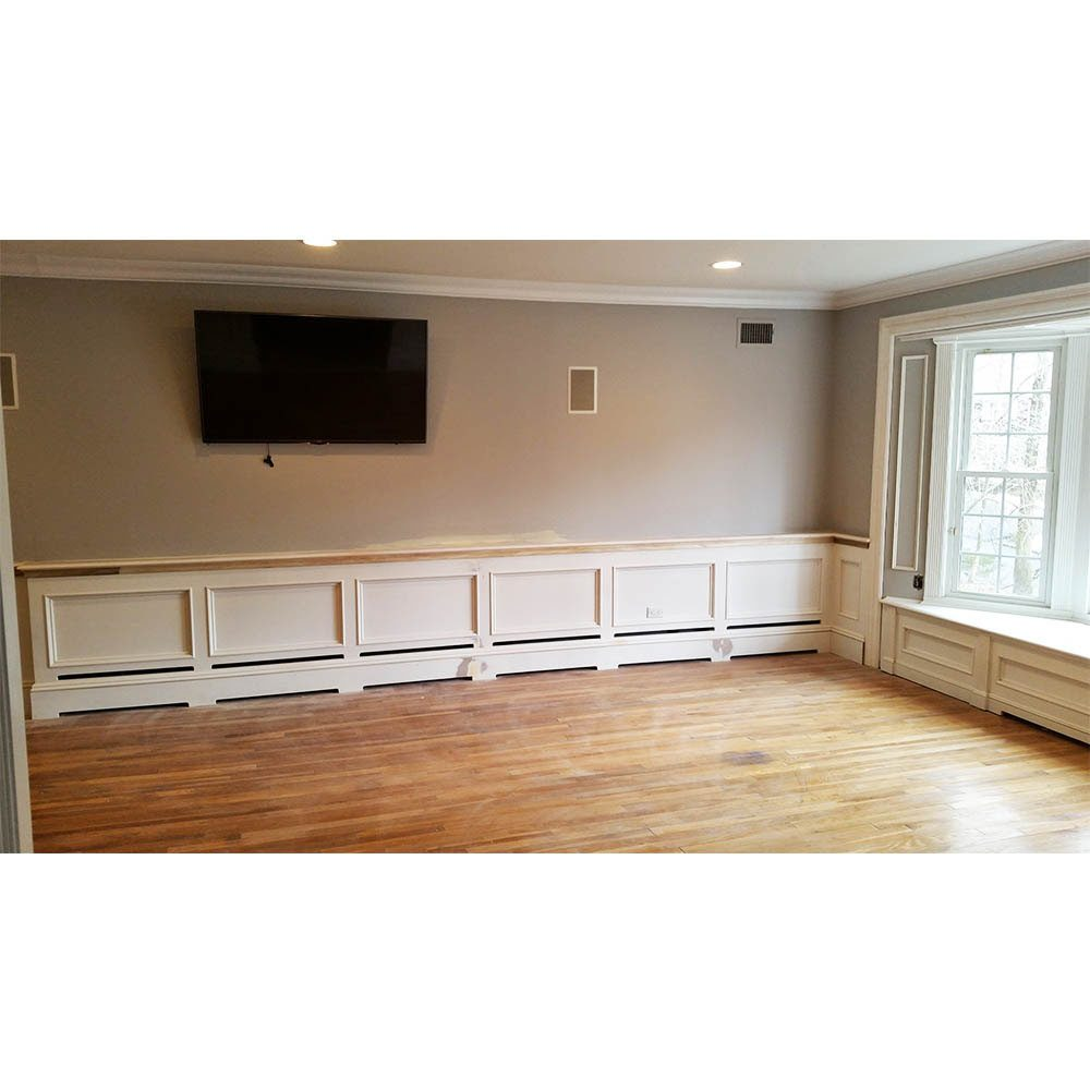Brand New Wainscoting With Baseboard Heating Lr85